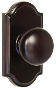 Weslock 1700 Impresa Elegance Collection Passage Knobset with Premiere Rosette