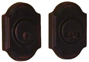 Weslock 7572 Premiere  Molten Bronze Collection Double Cylinder Deadbolt
