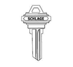 Schlage 35101CC 6 Pin C-Keyway Key Blank