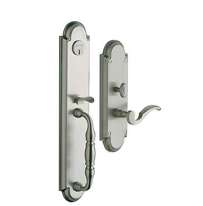 Baldwin 6544.LENT Estate Hamilton Single Cylinder Mortise Handleset for Left Handed Doors  sc 1 st  Door Hardware Center & Baldwin 6544.LENT Estate Hamilton Single Cylinder Mortise Handleset ...