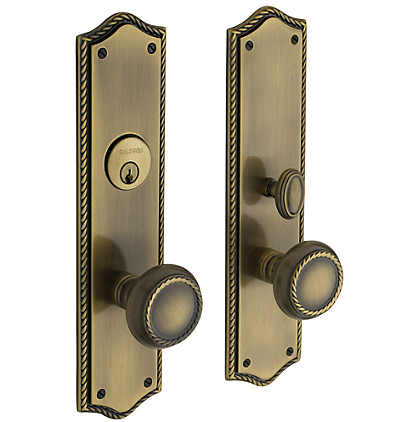 Baldwin 6554 dblc estate barclay double cylinder mortise for Baldwin entrance sets