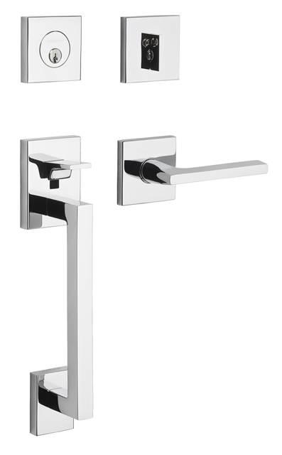 LENT Estate Minneapolis Single Cylinder Handleset For Left Handed Doors