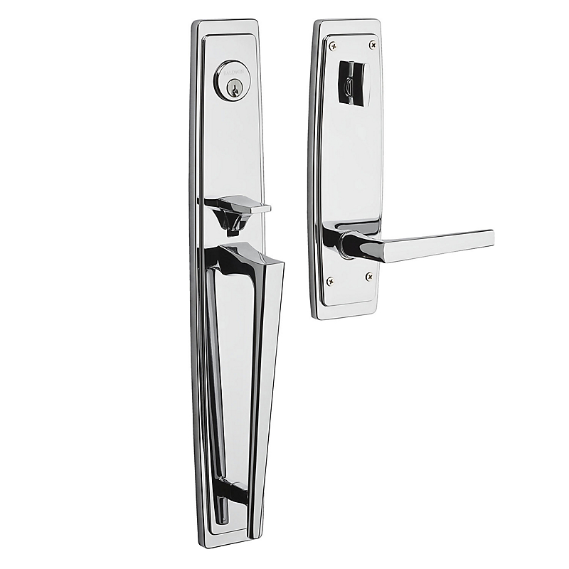 RENT Estate Palm Springs Full Escutcheon Single Cylinder Handleset for Right Handed Doors  sc 1 st  Door Hardware Center & 85397.RENT Estate Palm Springs Full Escutcheon Single Cylinder ...