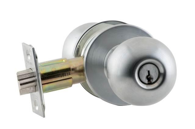 Schlage A53pd Orb Orbit Keyed Entrance Door Knob Set