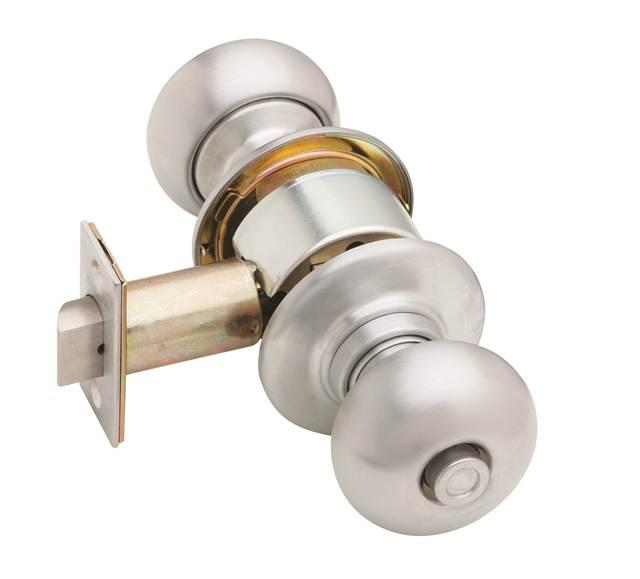 Schlage Plymouth Privacy Knob Brass And Chrome Go4carz Com