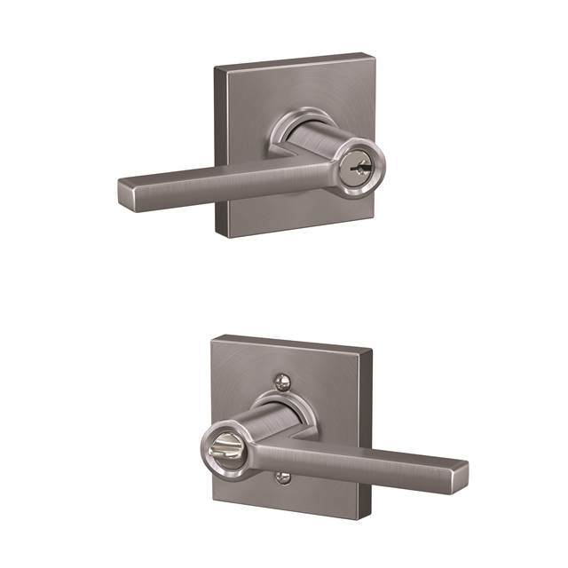 Schlage F51lat Col Latitude Keyed Entry Leverset With