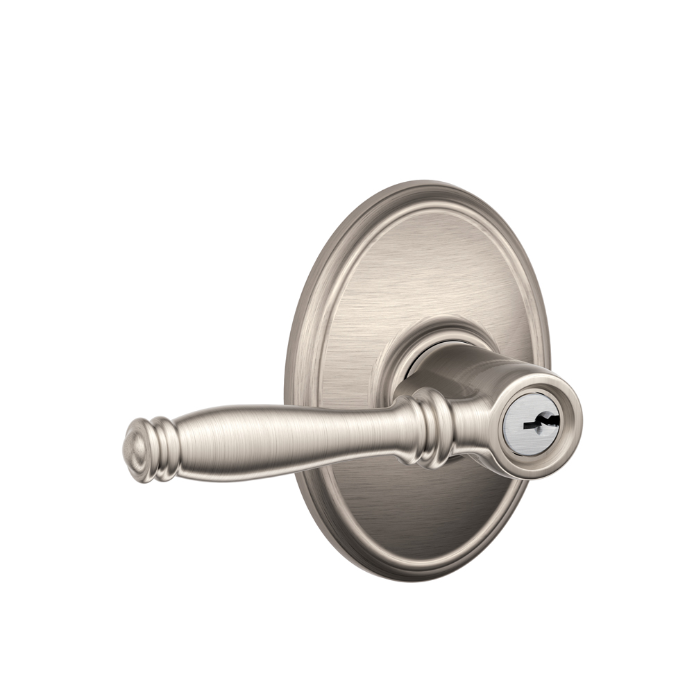 Schlage F51bir Wkf Birmingham Keyed Entry Leverset With