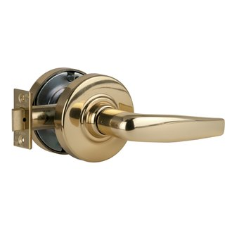 Schlage ND10S-ATH Athens Passage Door Lever Set