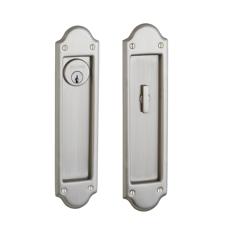 ENTR Boulder Keyed Pocket Door Mortise Lock  sc 1 st  Door Hardware Center & Baldwin PD016.ENTR Boulder Keyed Pocket Door Mortise Lock