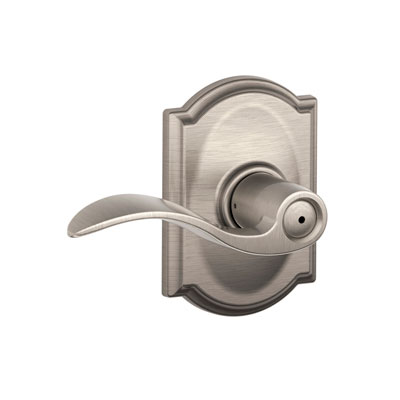 Schlage F40acc Cam Accent Privacy Leverset With Camelot