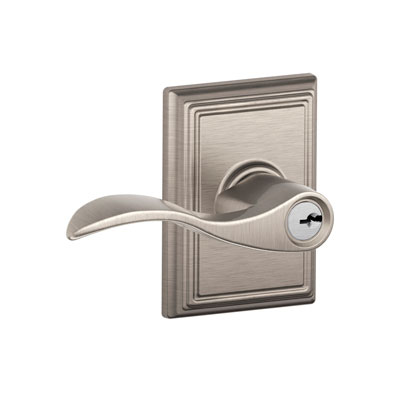 Schlage F51acc Add Accent Keyed Entry Leverset With