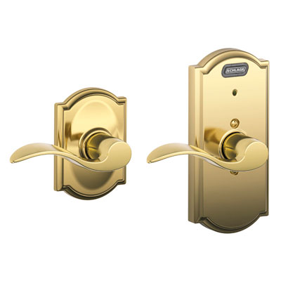 Schlage Fe10 Acc Cam Camelot Built In Alarm Passage