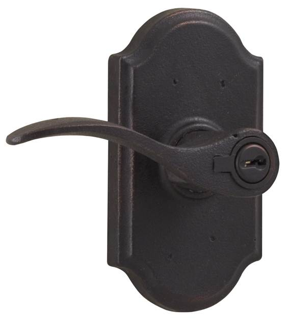 Weslock 7140 Lh Carlow Molten Bronze Collection Keyed Entry Leverset